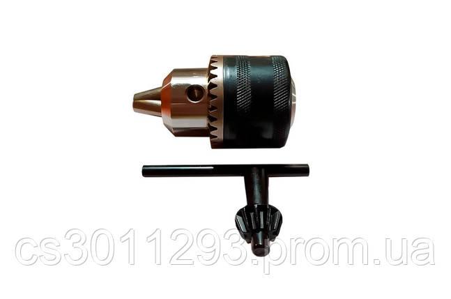 Патрон для дрилі з ключем Асеса - B16 (3-16 мм) 1 шт., фото 2