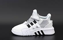 Женские кроссовки Adidas EQT ADV. Белые. ТОП Реплика ААА класса., фото 2