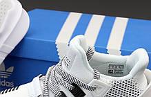 Женские кроссовки Adidas EQT ADV. Белые. ТОП Реплика ААА класса., фото 3