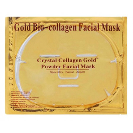 "Маска для лица с коллагеном ""Золотая"" Gold Bio-collagen Facial Mask (LT)"