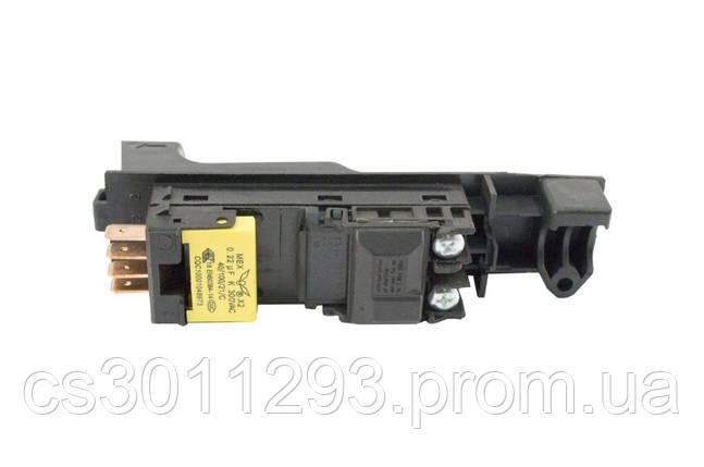 Кнопка УШМ Асеса - Bosch 230 (4 контакти) 1 шт., фото 2
