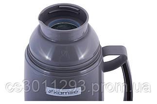 Термос Kamille - 1800 мл стеклянная колба 2081, фото 3