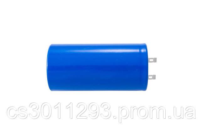 Конденсатор Асеса - 500 мкФ x 250 В, клеми 1 шт., фото 2