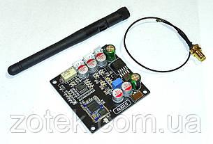 Bluetooth 5.0 QCC3031 Блютуз аудио приёмник ресивер aptX-HD внешняя антенна 5-32В