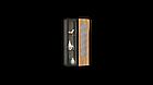 Навісна шафа колекції Енкель в стилі лофт, з натурального дерева в комбінації з склом, фото 7