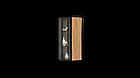 Навесной шкаф коллекции Энкель в стиле лофт, из натурального дерева в сочетании со стеклом, фото 10