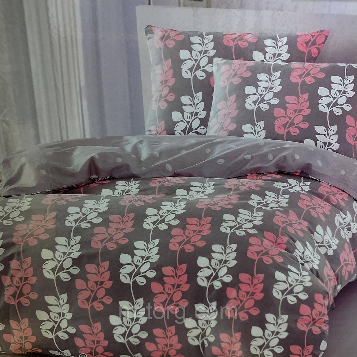 """""""цветочное"""" постельное белье Elway Premium евро размер 200*220 см, ткань сатин 100% хлопок"""