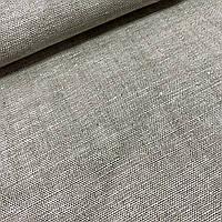 Бортова тканина лляна натурального кольору, ш. 160 см, фото 1