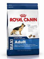 Корм Royal Canin (Роял канин) MAXI ADULT для взрослых собак крупных пород, 15 кг