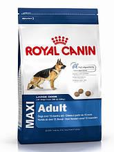 Сухой корм Royal Canin (Роял канин) MAXI ADULT для взрослых собак крупных пород, 15 кг