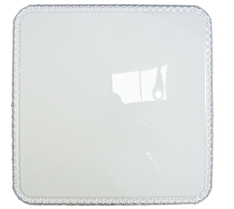 Светильник потолочный led 70w Smart квадрат Хрусталь узкий SunLed (R-Q450-03S)