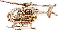 Деревянная 3D модель WOODEN.CITY Вертолет, фото 1