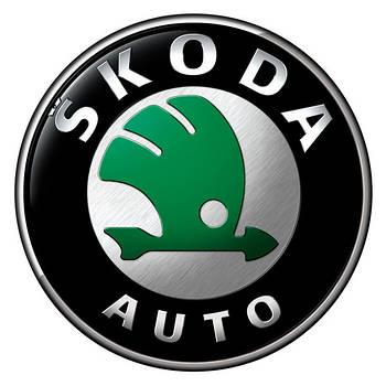 Дефлектор капота Skoda