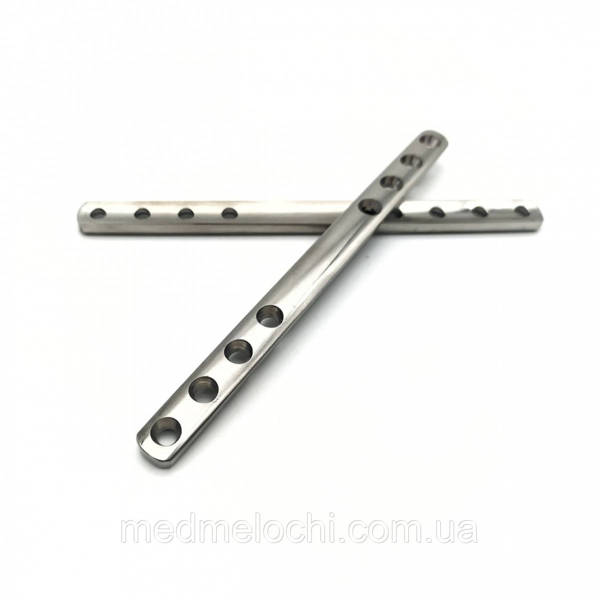 Пластина мостоподібна L = 130, D = 3,5 мм, 8 отв, Т- 3.5 мм, Ш - 10 мм.