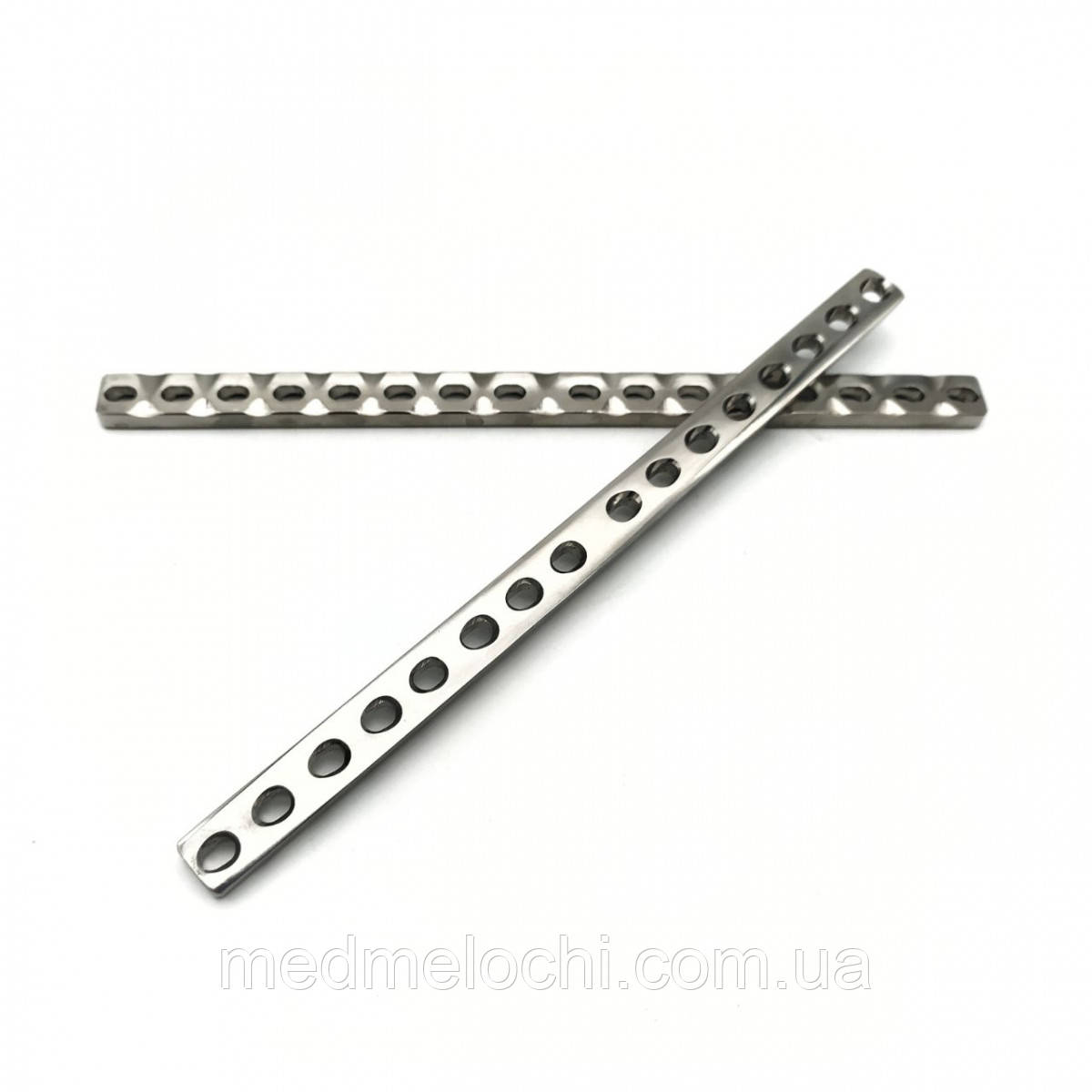 Пластина пряма LC-DCP L = 194, D = 3,5 мм, 16 отв, Т - 5 мм, Ш -12 мм.