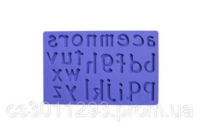 Молд силіконовий Empire - 200 x 175 мм, букви, фото 2