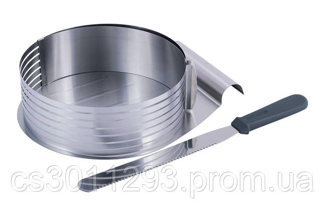 Форма для бісквіта Kamille - 245-330 мм з ножем і підносом, фото 2