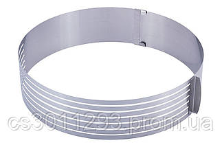 Форма для бісквіта Kamille - 245-330 мм з ножем і підносом, фото 3