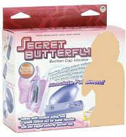 Клитеральный стимулятор-страпон Secret Butterfly