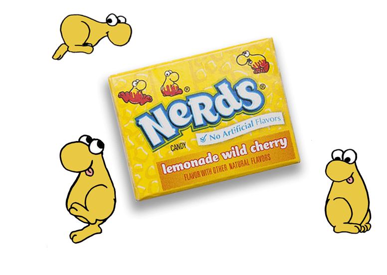 Драже Nerds mini Lemonade Wild Cherry 12 g
