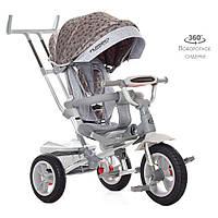 """Велосипед M 4058HA-23S (1шт)три кол. гума (12/10),колясочн,поворот,USB/BT,світло,гальмівний,""""зірки"""""""