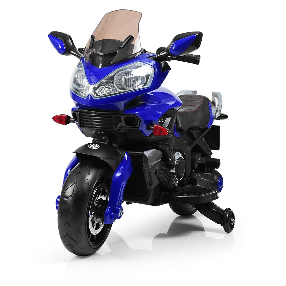 Мотоцикл M 3630 EL-4 (1шт) 2мотора25W,аккум12V/7A,колесаEVA,сид.кож,син.