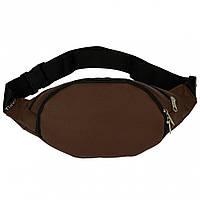 Поясная сумка Tiger LX Dark Brown эко-кожа