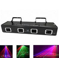 Лазерный проектор RGBY 4х лучевой, фото 1