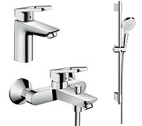 Набор смесителей для ванны Hansgrohe 1052017 Logis Loop, Германия