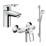 Набор смесителей для ванны Hansgrohe 1072017 Logis Loop, Германия