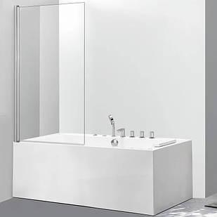 Стеклянная шторка для ванны AVKO Glass 542 70х140 см Clear перегородка для ванной