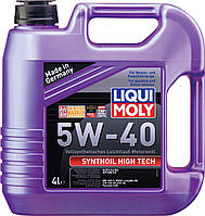 Моторное масло синтетика LIQUI MOLY 5W-40 4L Synthoil High Tech для Volkswagen , Mercedes-Benz , BMW , Skoda