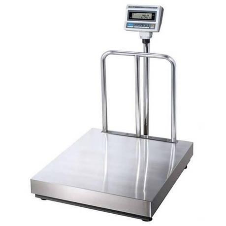 Весы электронные напольные CAS DB II-300 (150/300 кг) платформа 600*700 мм, фото 2