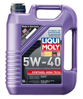 Моторное масло синтетика LIQUI MOLY 5W-40 5L Synthoil High Tech для Volkswagen , Mercedes-Benz , BMW , Skoda