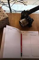 Блокнот на день по системе Смарт+ и Фокус на главные задачи Daily Planner
