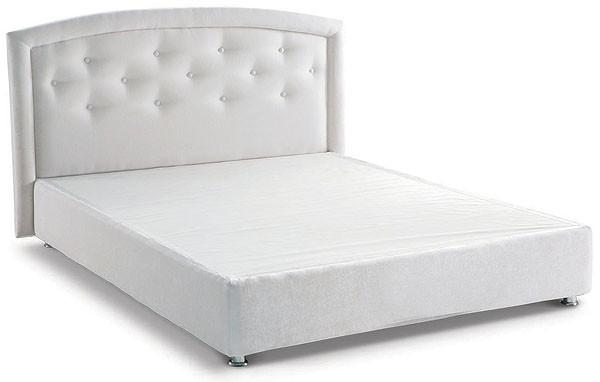 Кровать - подиум с изголовьем №18
