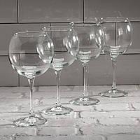 """Набір келихів для вина """"Час дегустацій"""" 650 мл, 4шт Luminarc."""