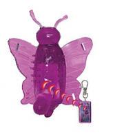Клитеральный стимулятор-страпон Dominate Butterfly: Wireless: Purple