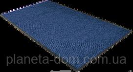 Коврик грязезащитный влаговпитывающий 120 х 150 синий
