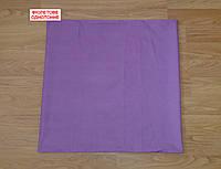 Наволочка бязь 80х80 - Фіолетове однотонне