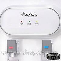 Настольный кулер для воды Lexical LWD-6001-1 | 550W/85W, фото 3