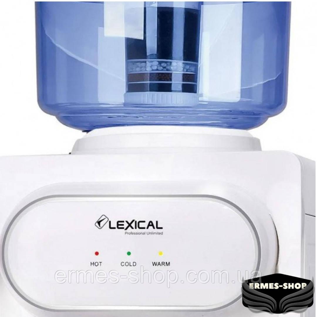 Настольный кулер для воды Lexical LWD-6001-1 | 550W/85W