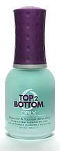 """Orly Базовое и верхнее покрытие """"Top 2 Bottom"""", 2 в 1, 18мл"""