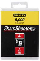 Скобы Stanley 1-TRA208T 12мм (1000шт.) (блистер)