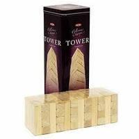 Развивающая настольная игра для детей «POWER TOWER». Настольные деревянные детские игры.
