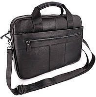 Кожаная сумка для ноутбука мужская Tiding Bag