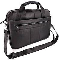 Шкіряна сумка для ноутбука чоловіча Tiding Bag