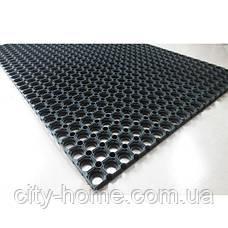 Коврик резиновый сота 100 х 150 х 1,6 см, фото 3