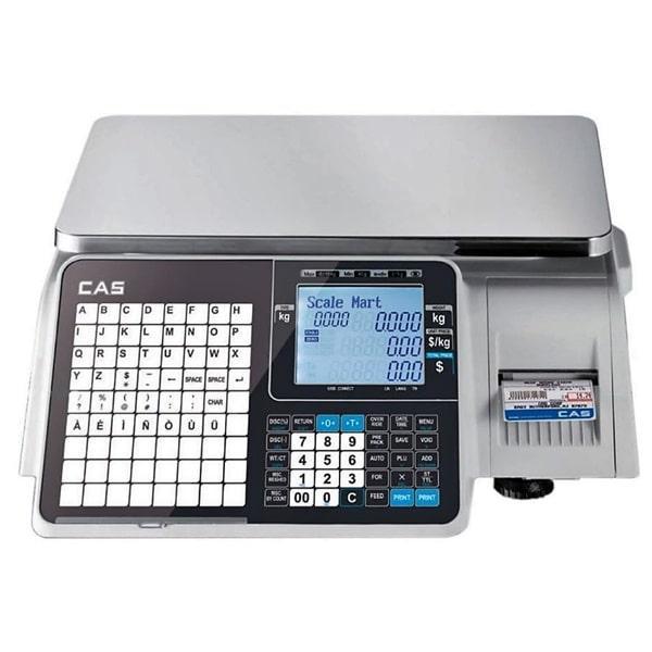 Весы с печатью этикеток CAS CL5000J-IB (6 кг, 15 кг, 30 кг)