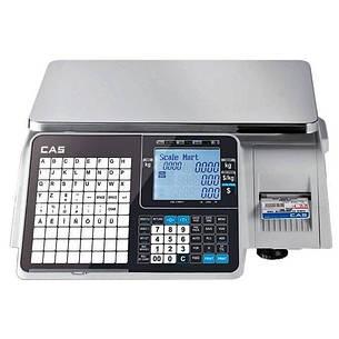 Весы с печатью этикеток CAS CL5000J-IB (6 кг, 15 кг, 30 кг), фото 2